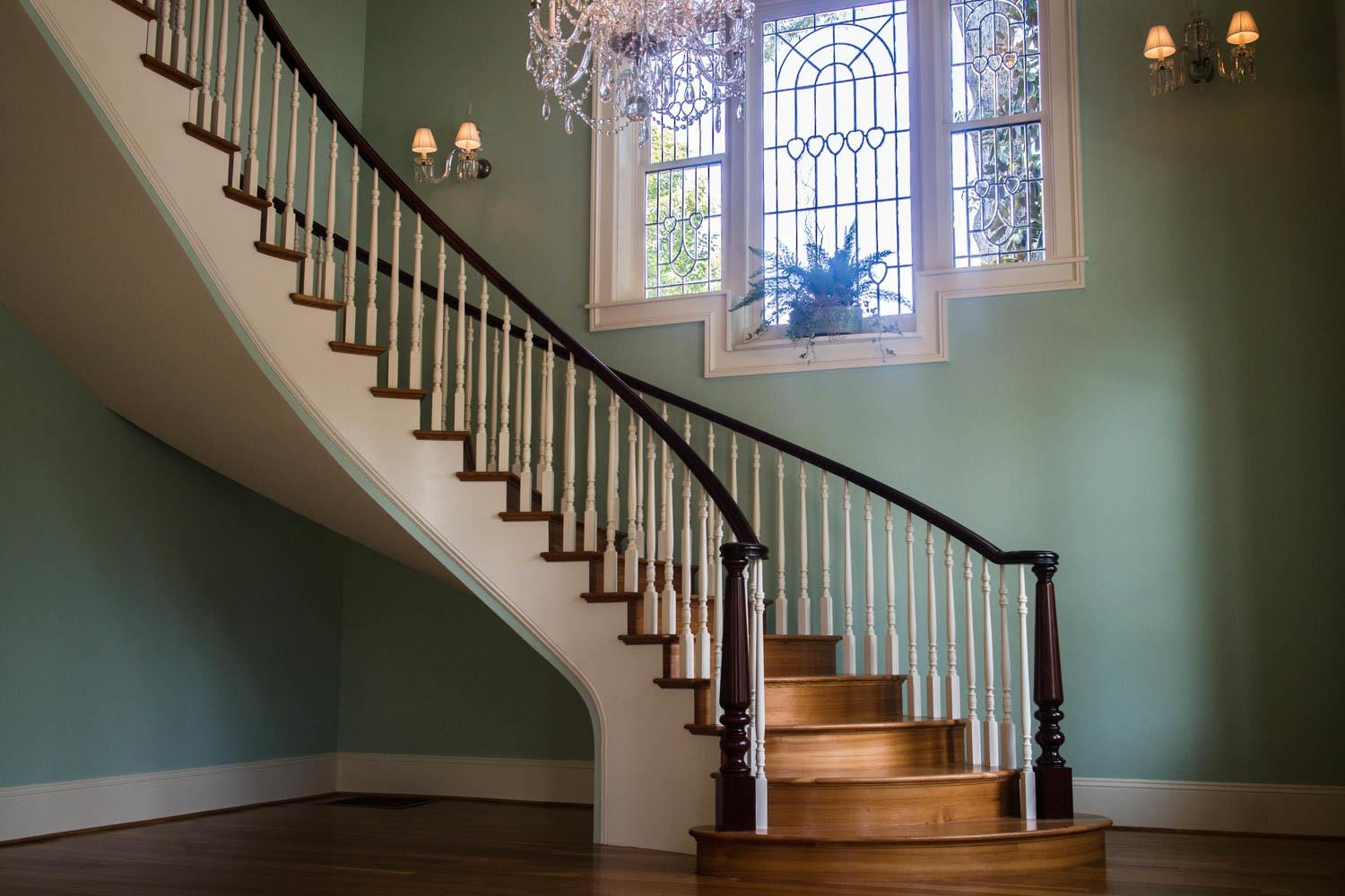 Antique Curved Staircase