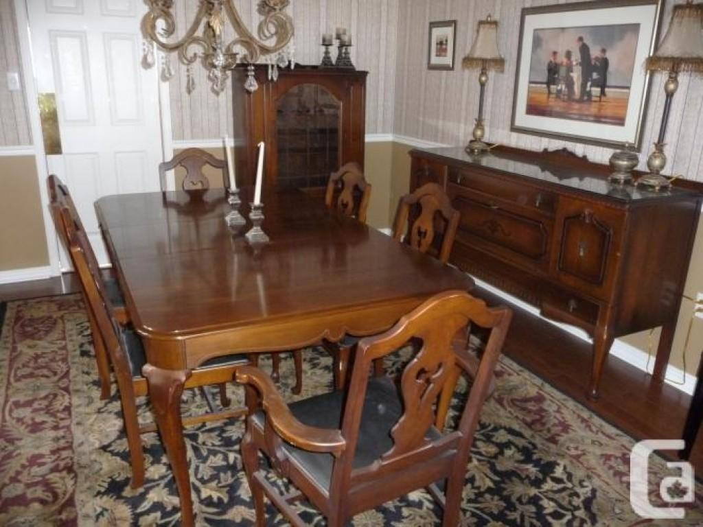Antique Dining Room Set Sale Vintage