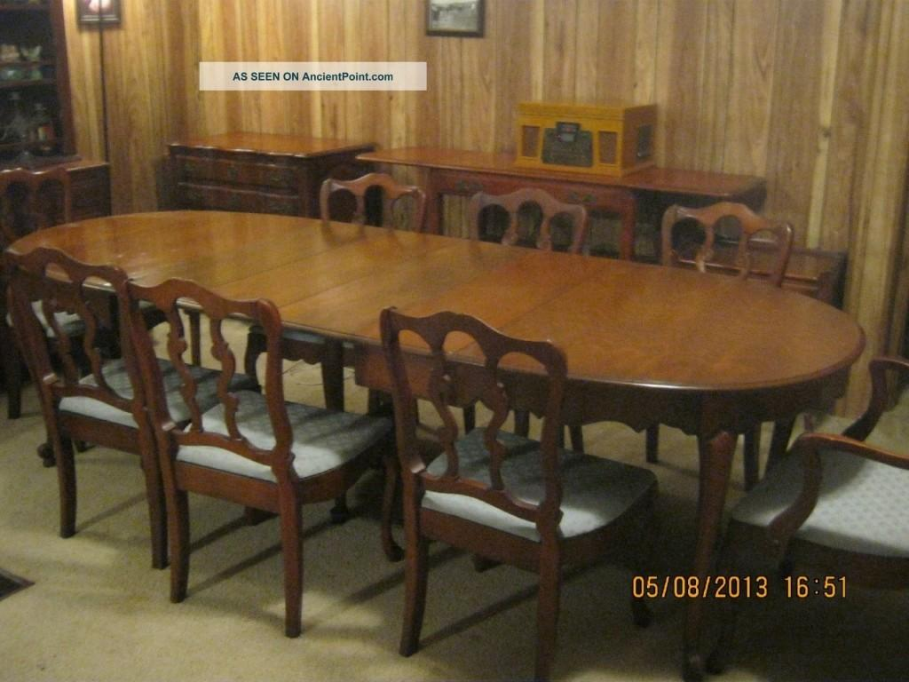 Antique Dining Room Sets Dixon Powdermaker Vintage