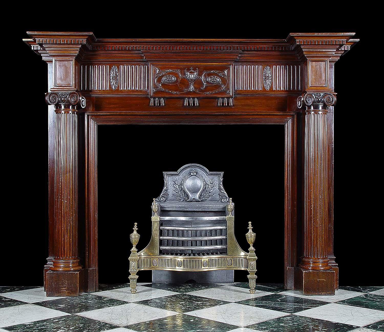 Antique Fireplace Mantels Style Ideas Clipgoo