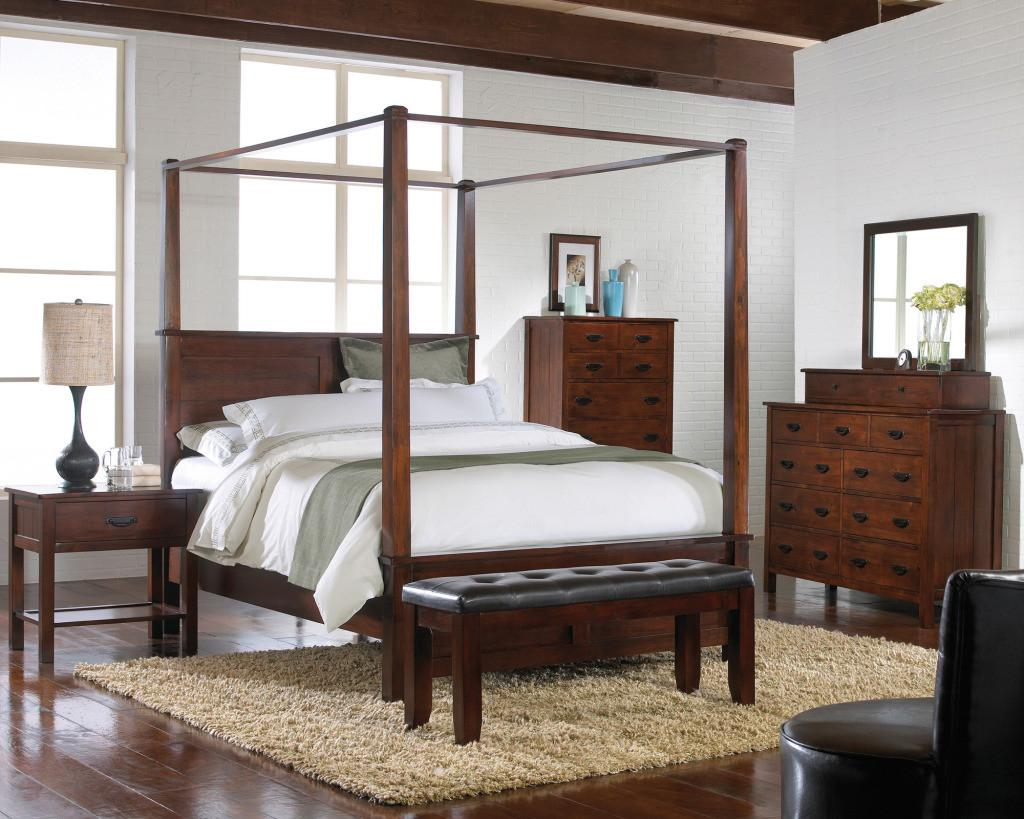Antique Furniture Canopy Bed Steps Take Care