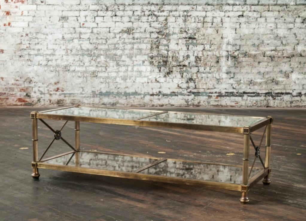 Antique Glass Coffee Tables Best Home Design 2018