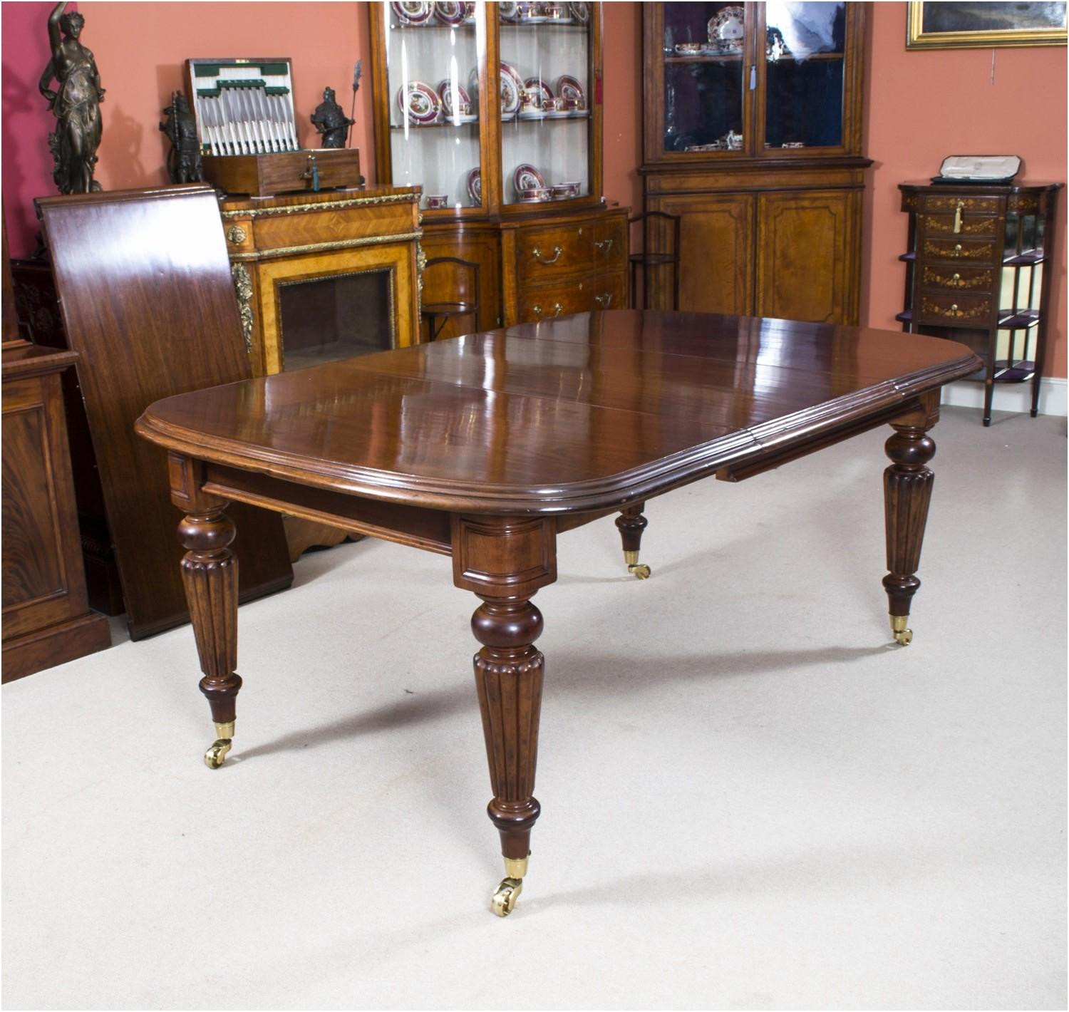 Antique Mahogany Dining Table Luxury Inspiration