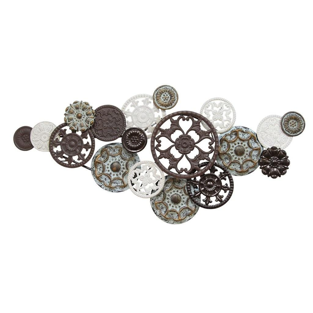 Antique Medallion Cluster Wall Decor Stratton Home