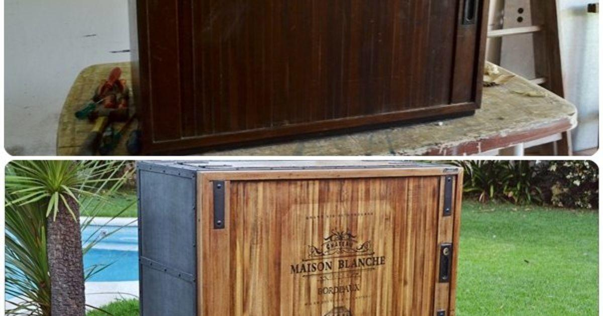 Antique Storage Cabinet Modern Rolling Bar Hometalk