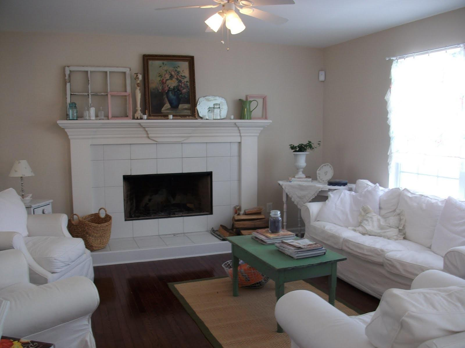 Anything Shabby Chic Living Room Changes