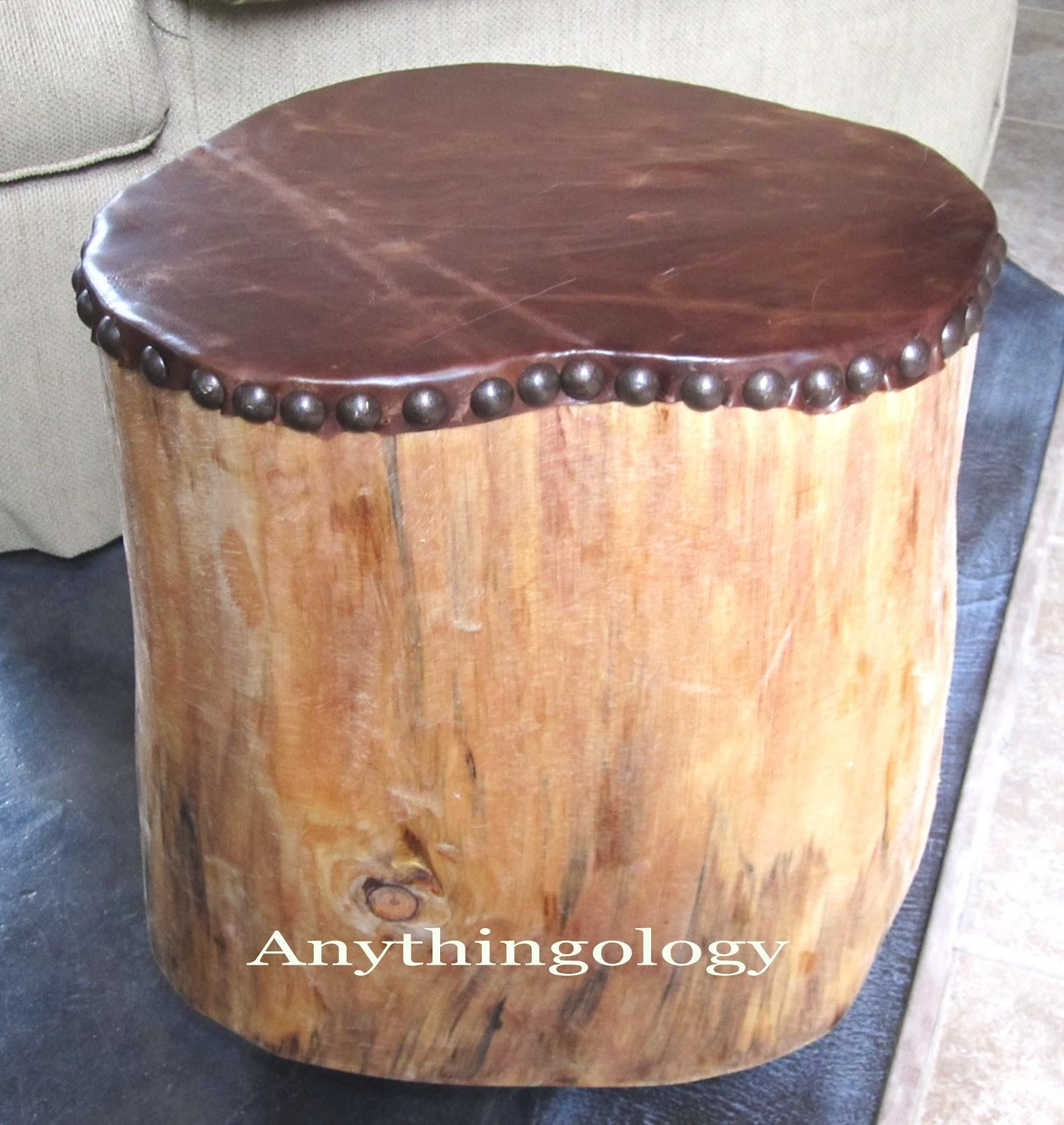 Anythingology Leather Studded Stump