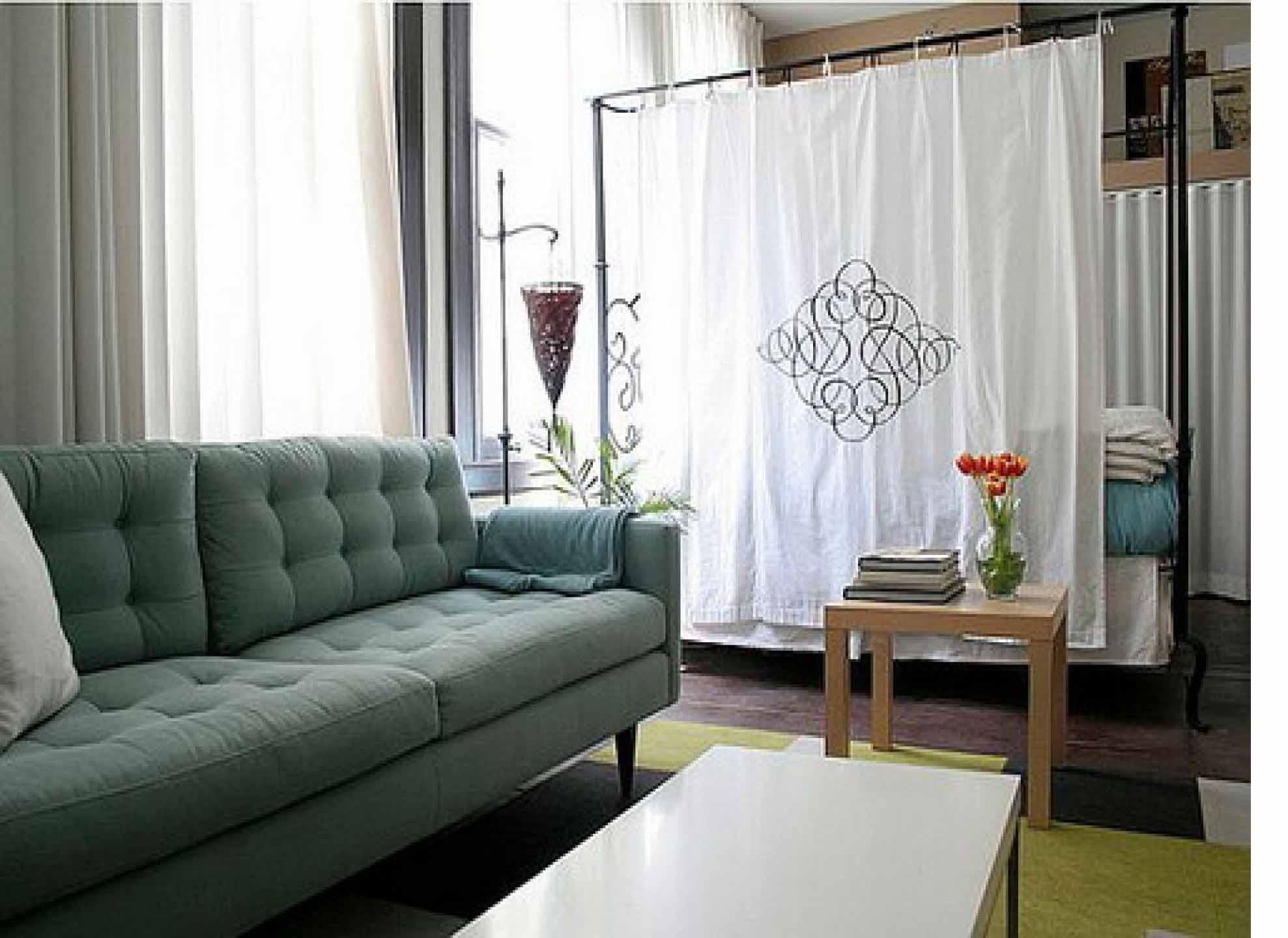 Apartment Bedroom Room Dividers Studio Home Interior