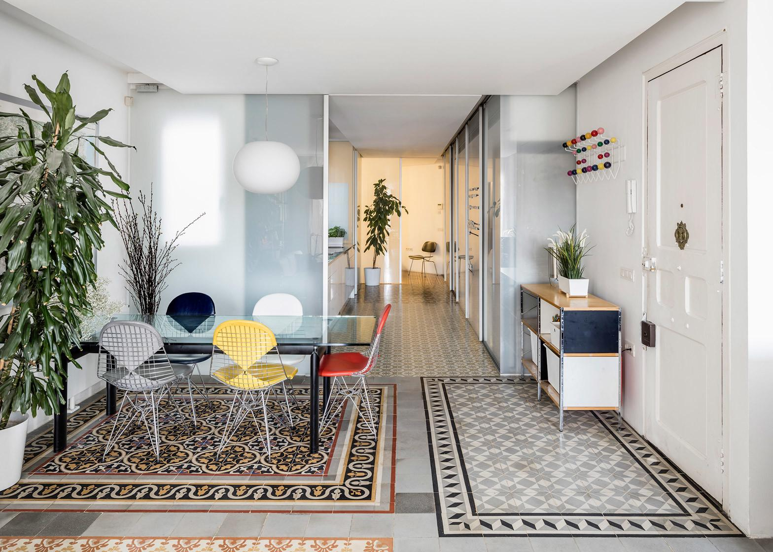 Apartment Gorgeous Historic Tiles Uncovered Revamp
