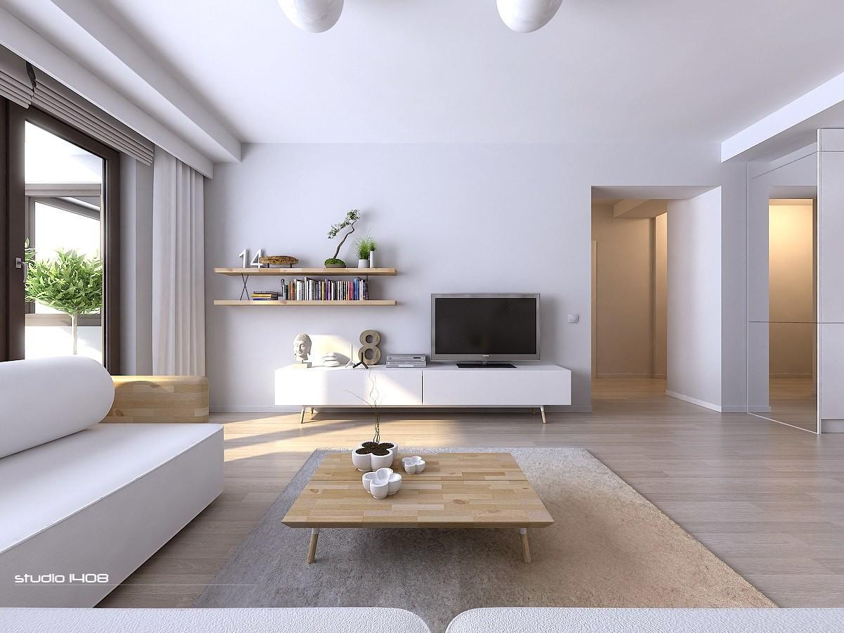 Apartment Living Modern Minimalist