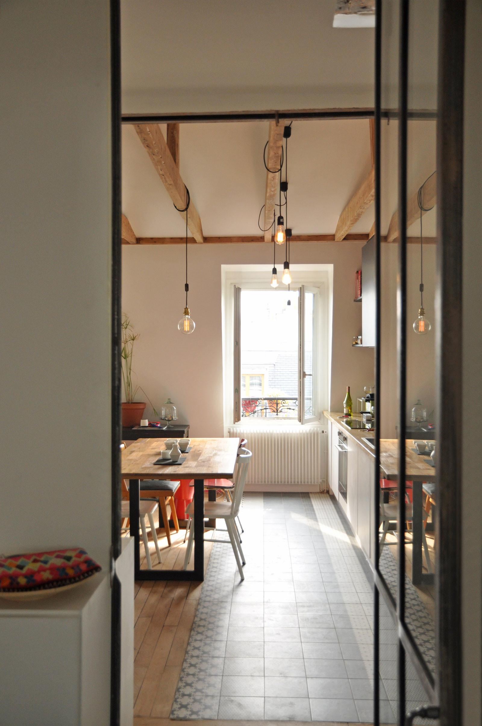 Apartment Paris Gets Fresh Look After Renovation