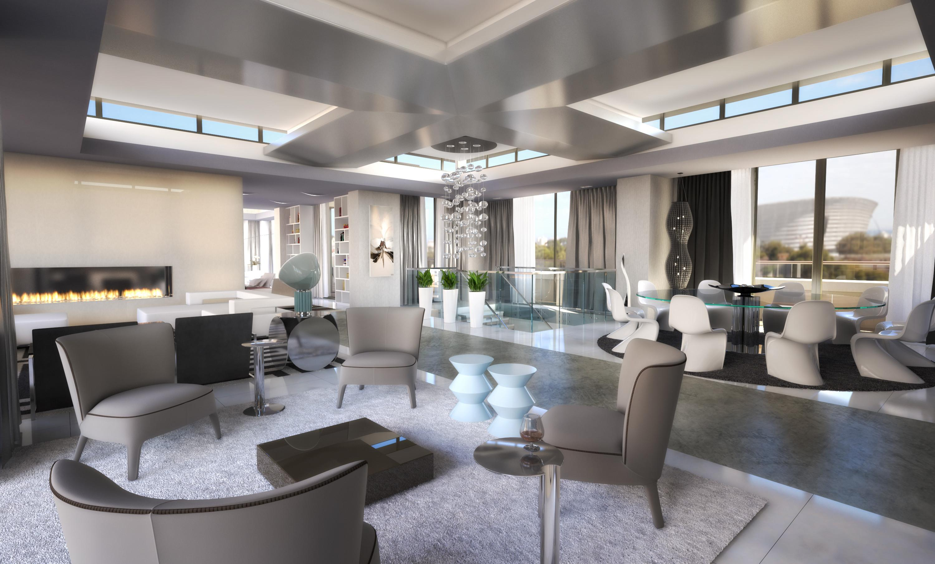 Apartments Luxury Penthouse Out Three
