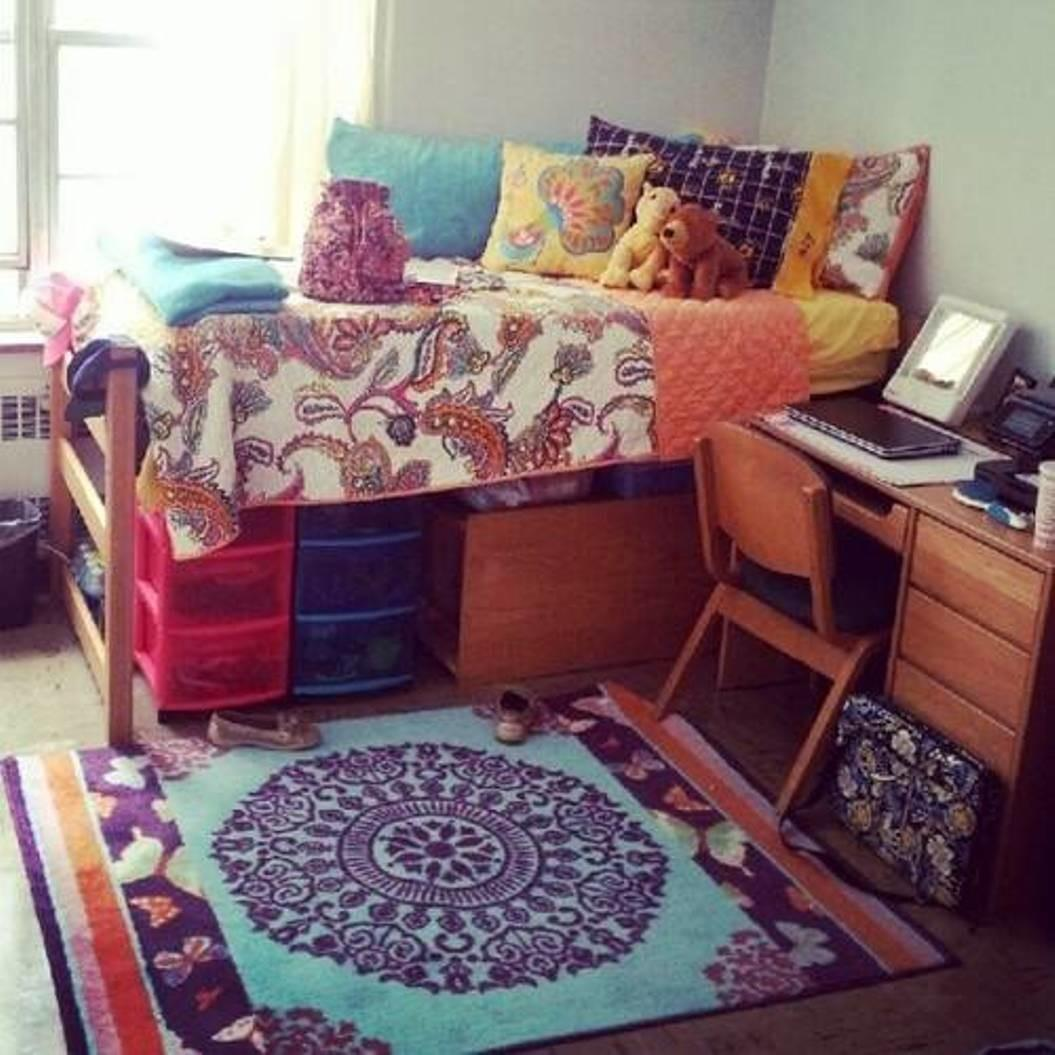 Appealing Bohemian Style Room Installed Small