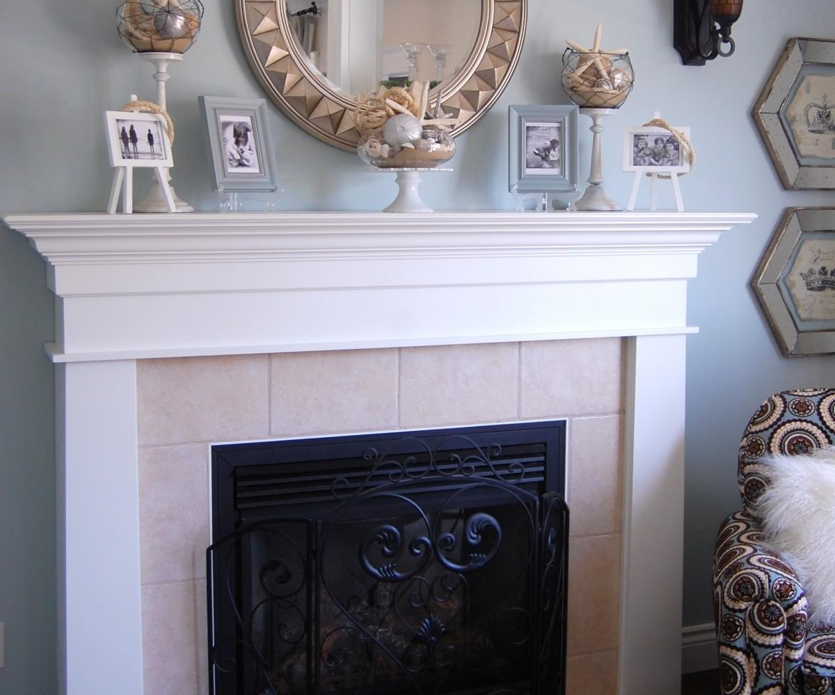 Appealing Fireplace Mantel Decor Smlf Diy Faux