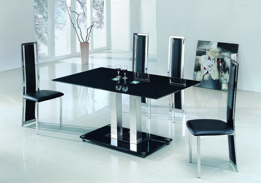 Appealing Oval Glass Dining Table Wood Base Rooms