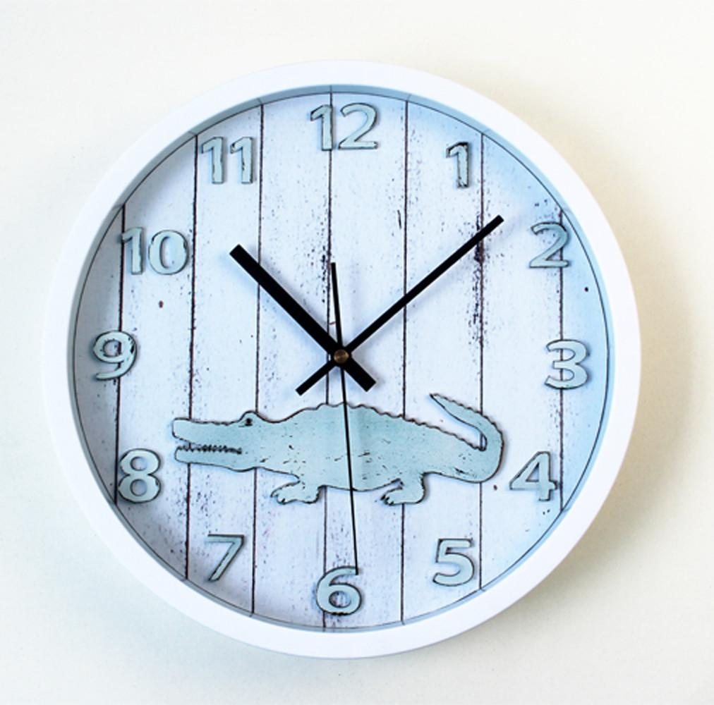 Appealing Wall Clock Small 133 Copper Kitchen