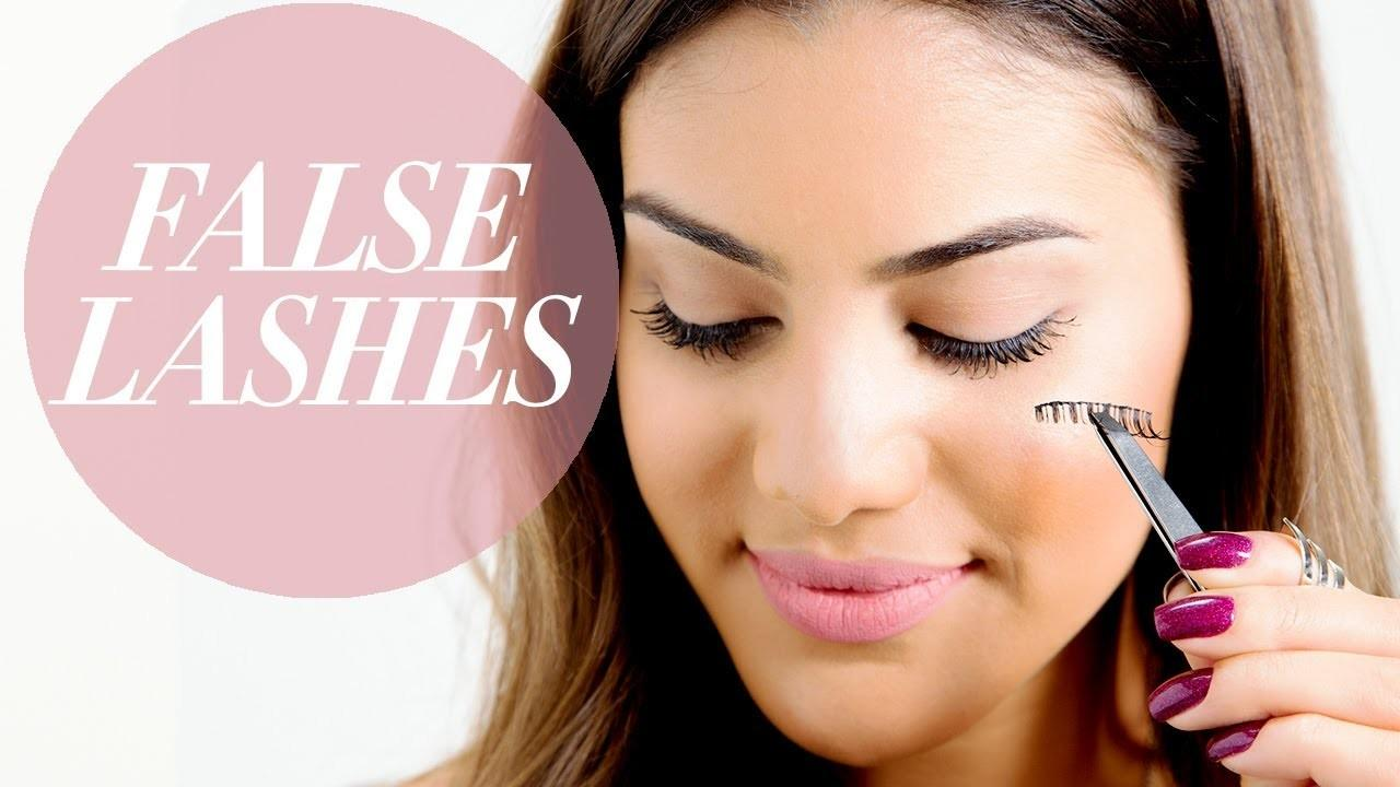 Apply Remove False Lashes Beauty Pop