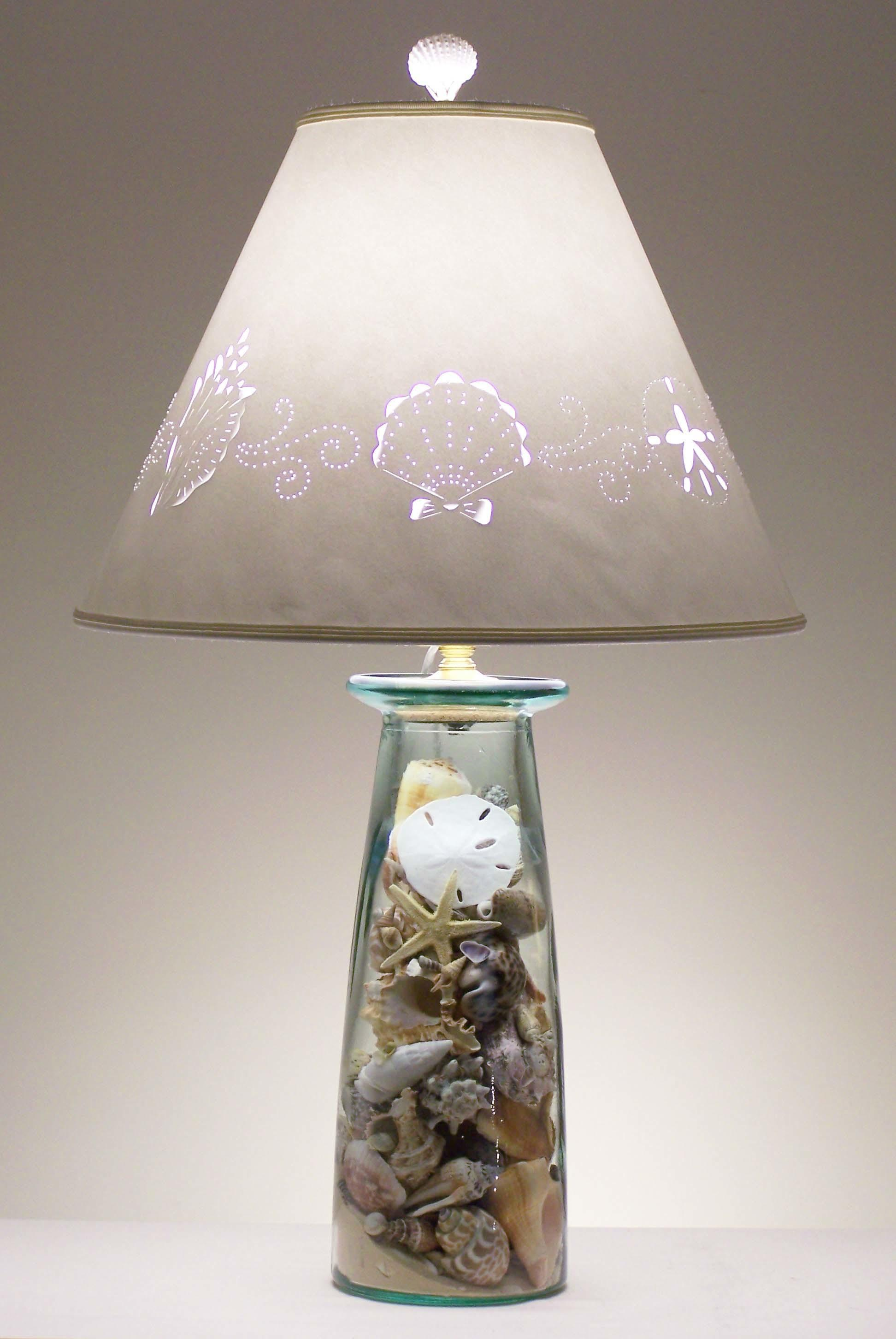 Aqua Seahorse Beach Cottage Lamp Coastal Style Lamps