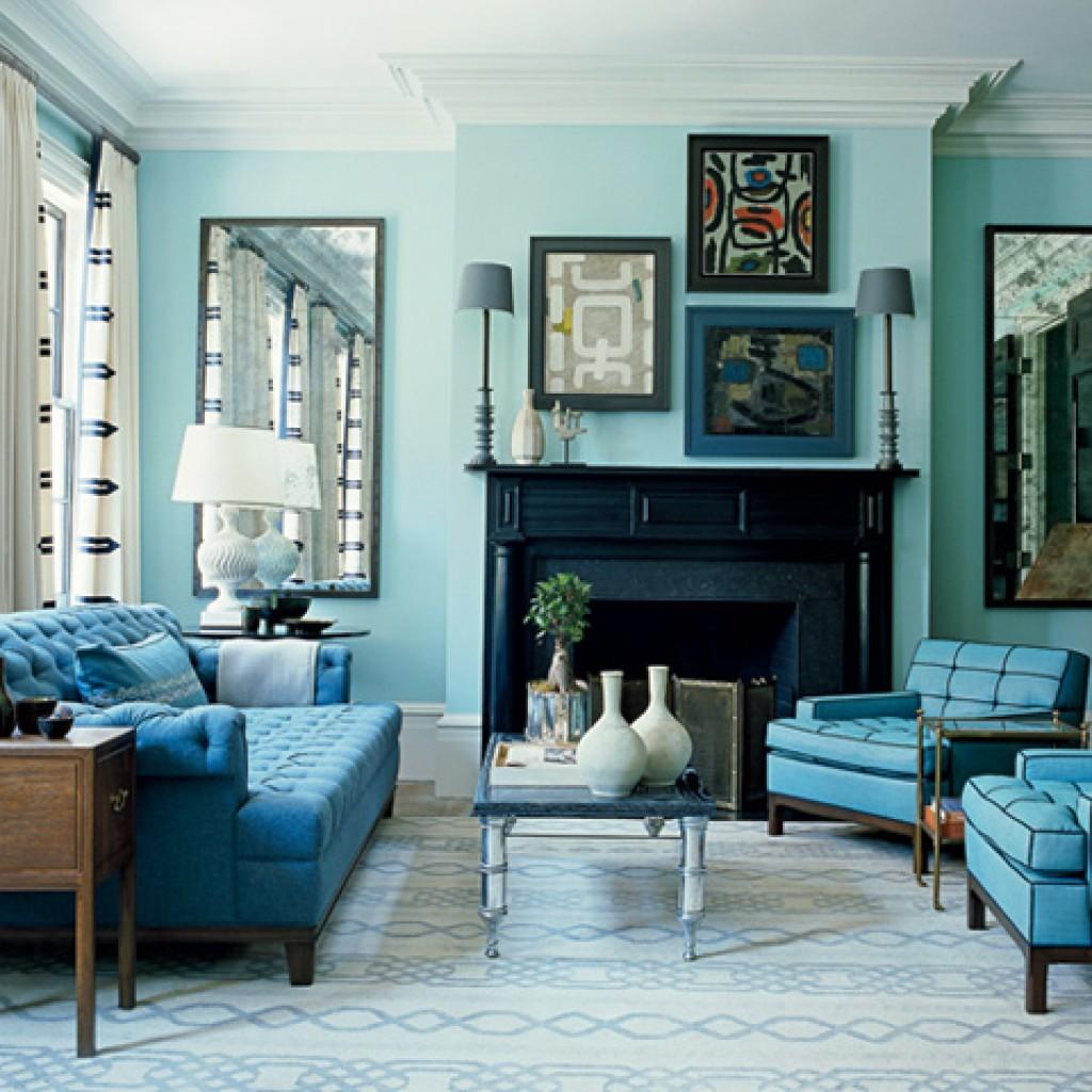 Aqua Teal Home Decor Color Schemes