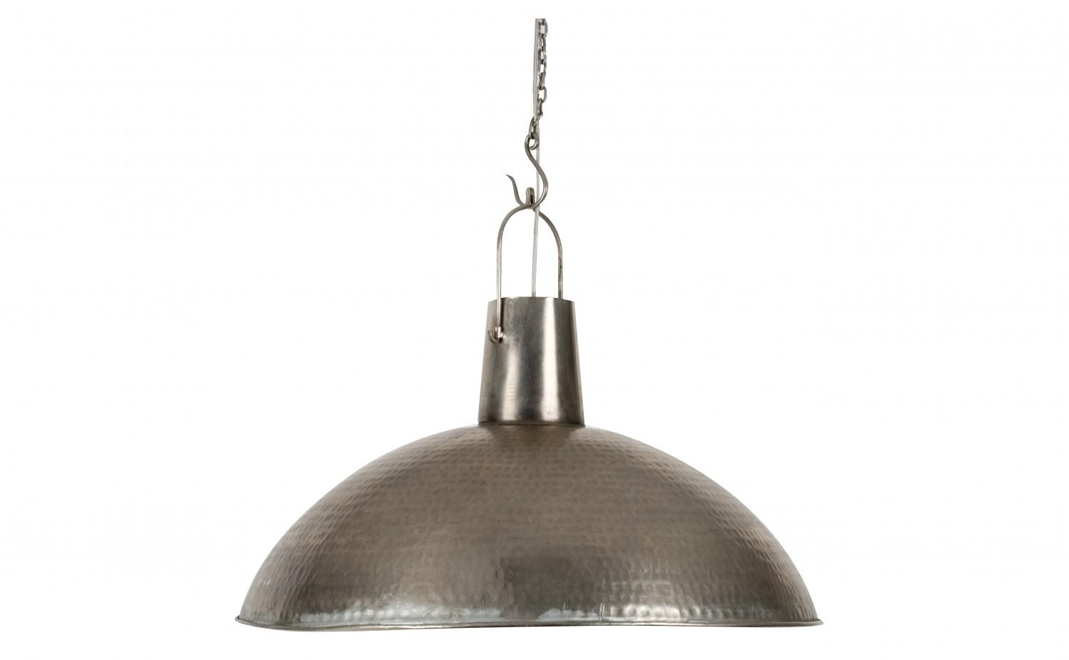 Archaic Design Hanging Lamps Ideas Featuring Silver Color