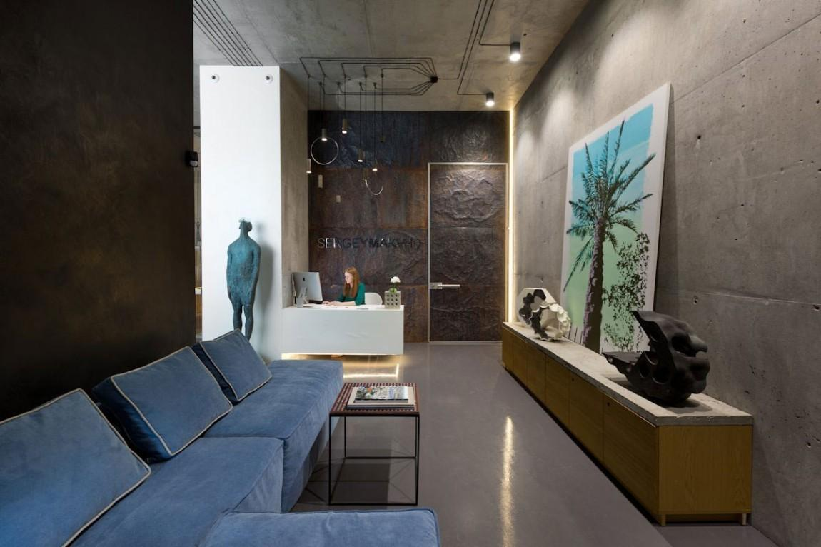 Architectural Office Showroom Puts Artistic Spin