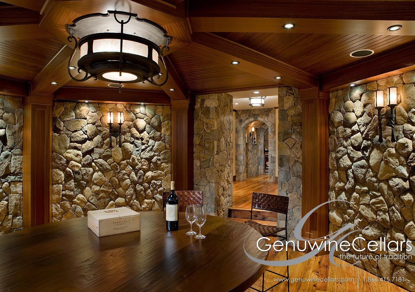 Architectural Series Custom Wine Cellars Genuwine