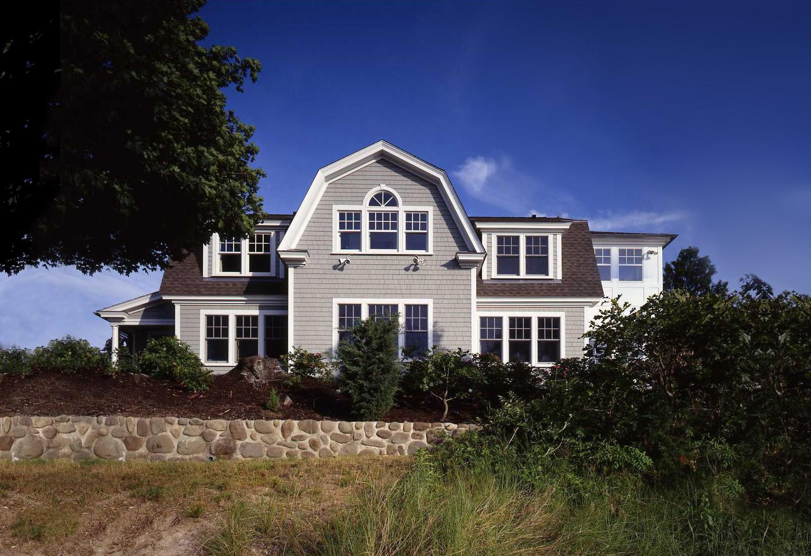 Architecture Charming Coastal Homes Shingle Siding