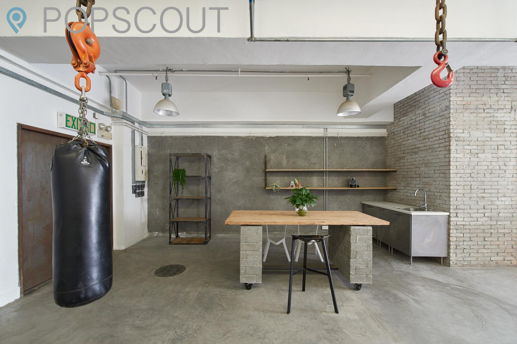 Architectures Industrial Loft Apartment