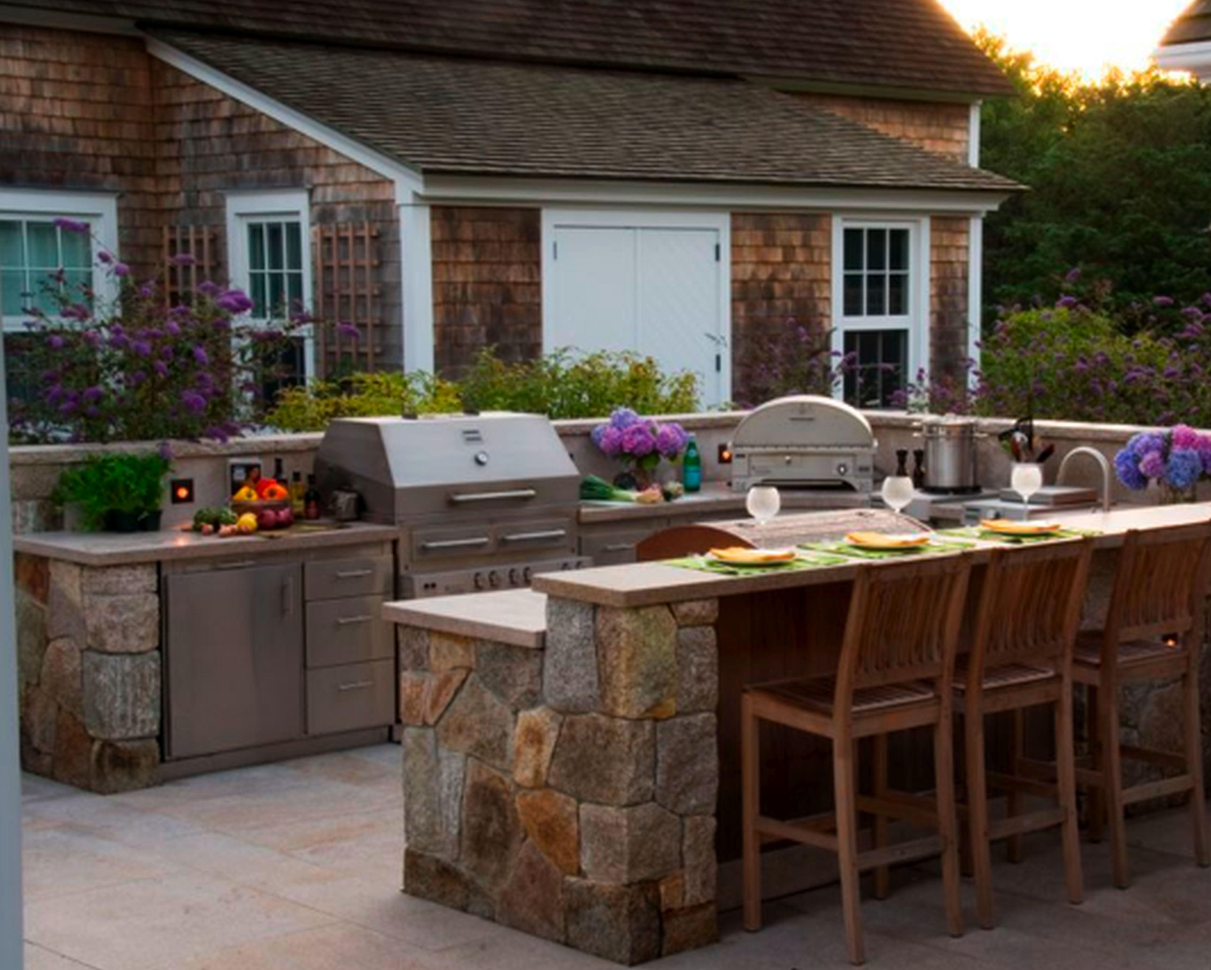 Architectures Modern Outdoor Kitchen Cabinets Single