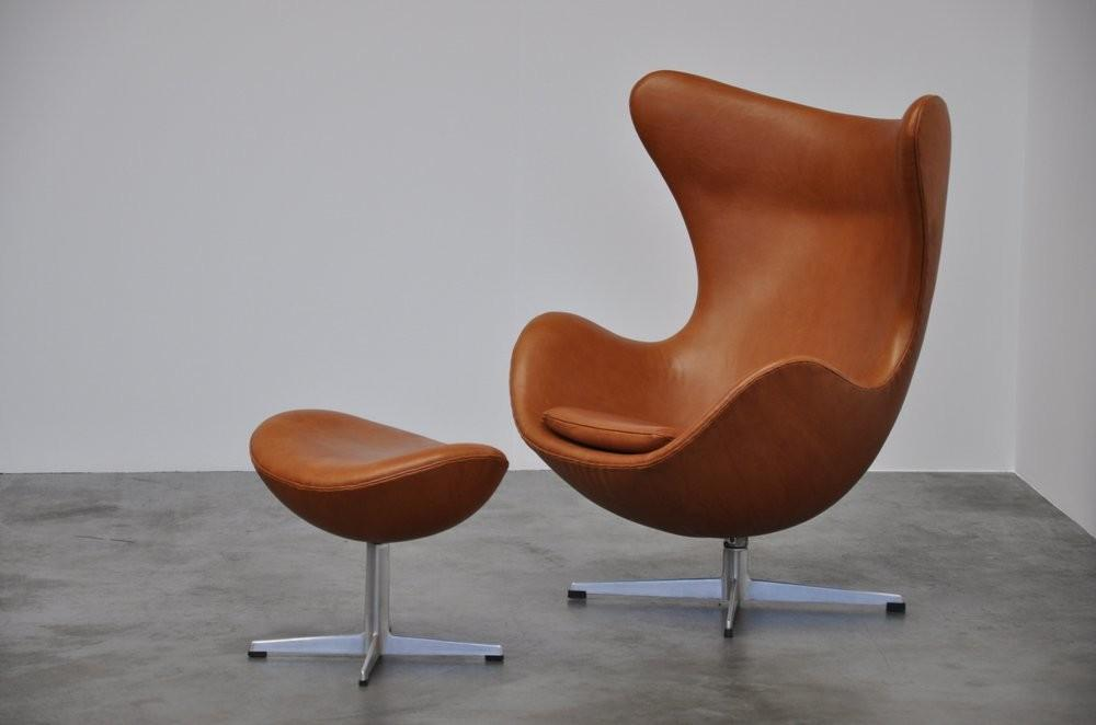 Arne Jacobsen Egg Chair Fritz Hansen 1958 Mid Mod Design