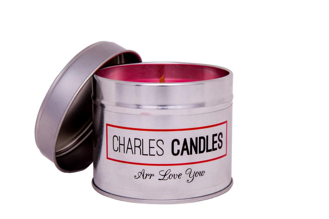 Arr Love Yow Brummie Valentines Candle