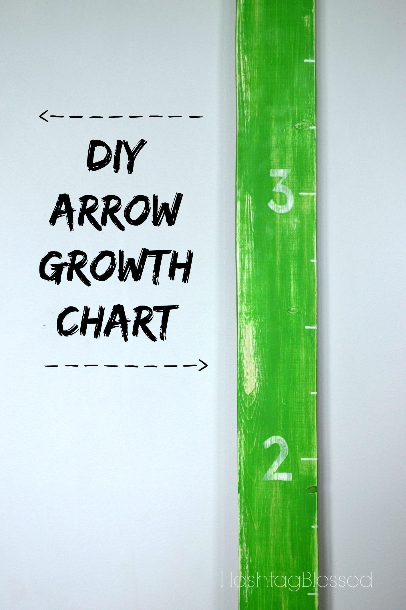 Arrow Growth Chart Make Height Home