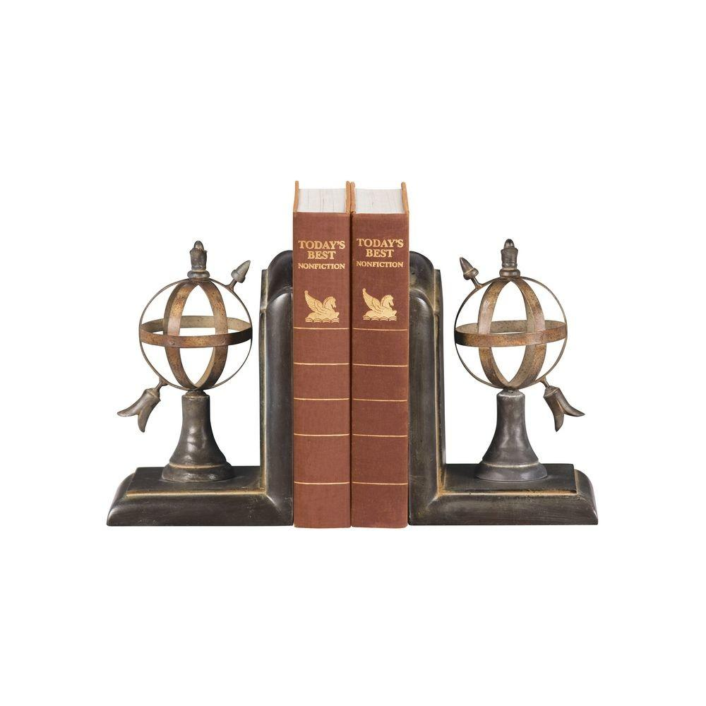Arrow Sphere Decorative Bookends 4496 Destination