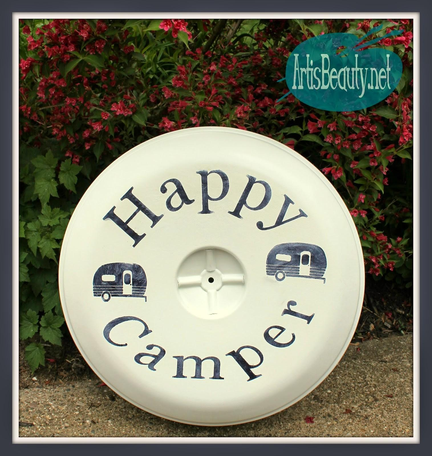 Art Beauty Custom Camping Spare Tire Cover