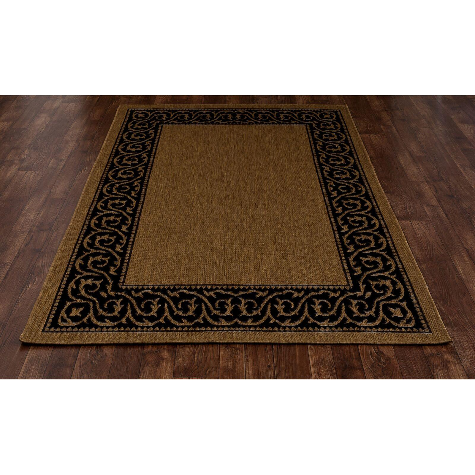 Art Carpet Plymouth Brown Black Indoor Outdoor Area Rug