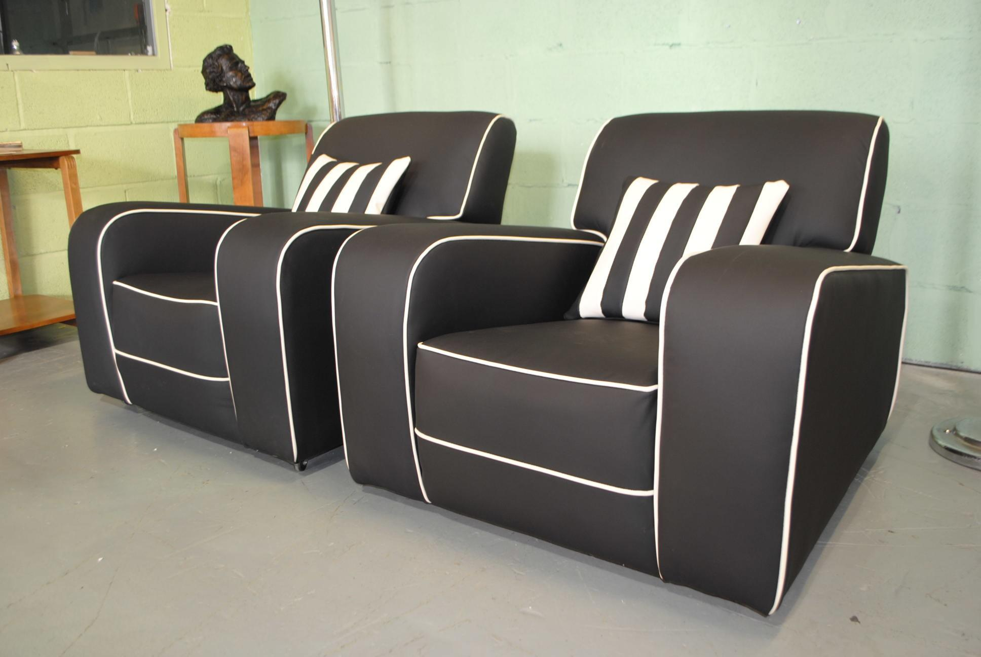 Art Deco Armchairs Cloud Furniture Sales