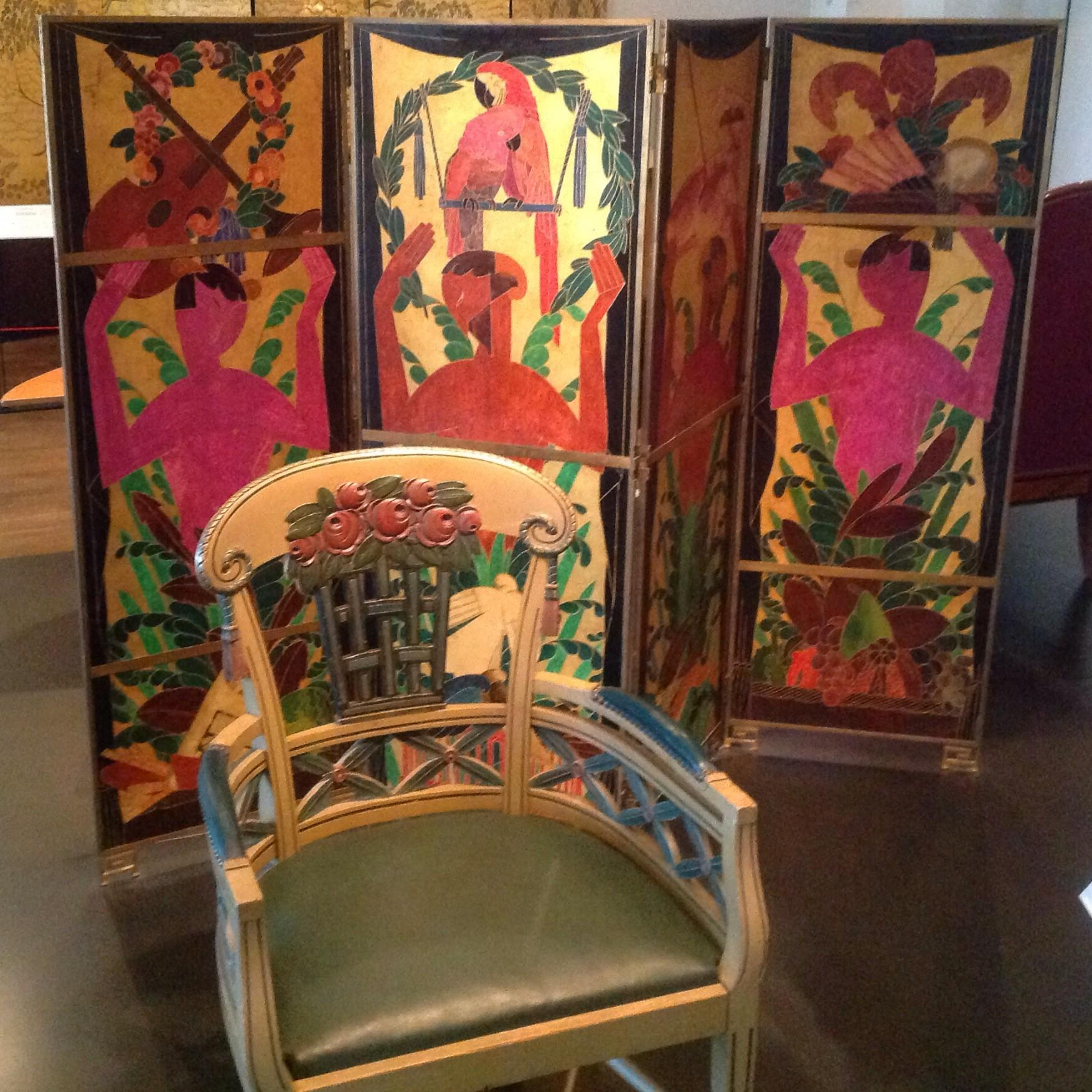 Art Deco Chair Screen 1912 1920