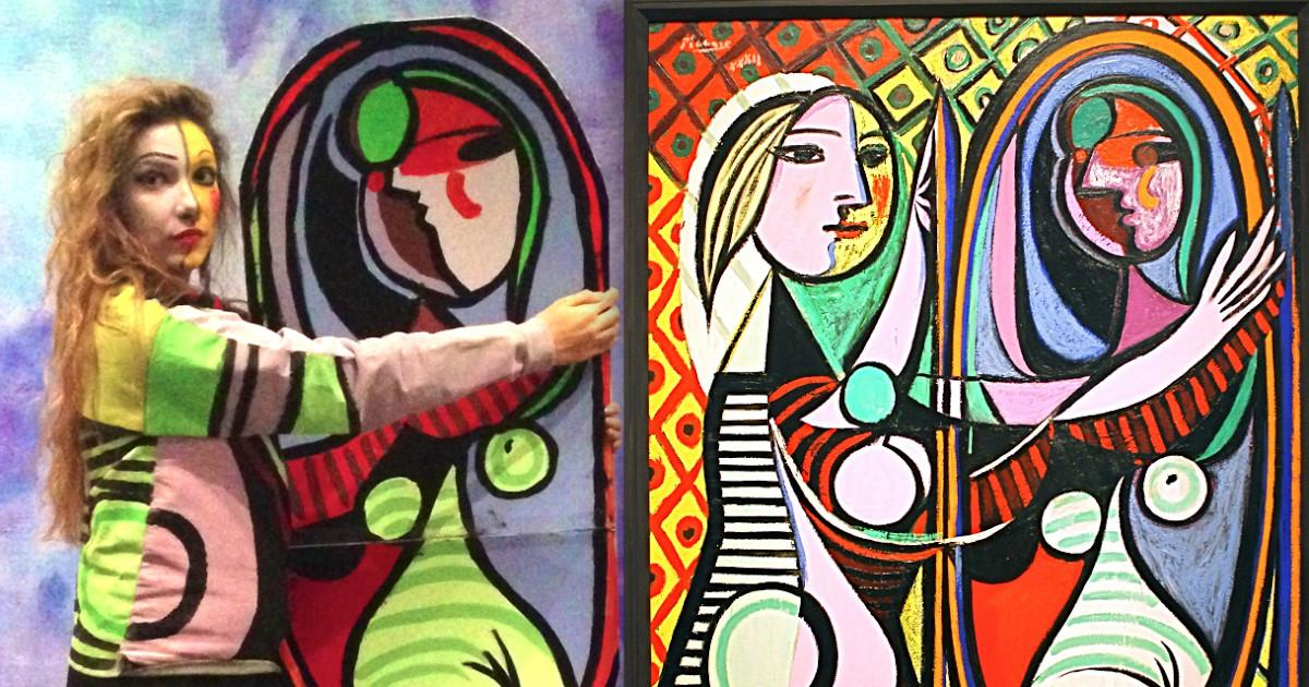 Artfully Awear Picasso Ladies