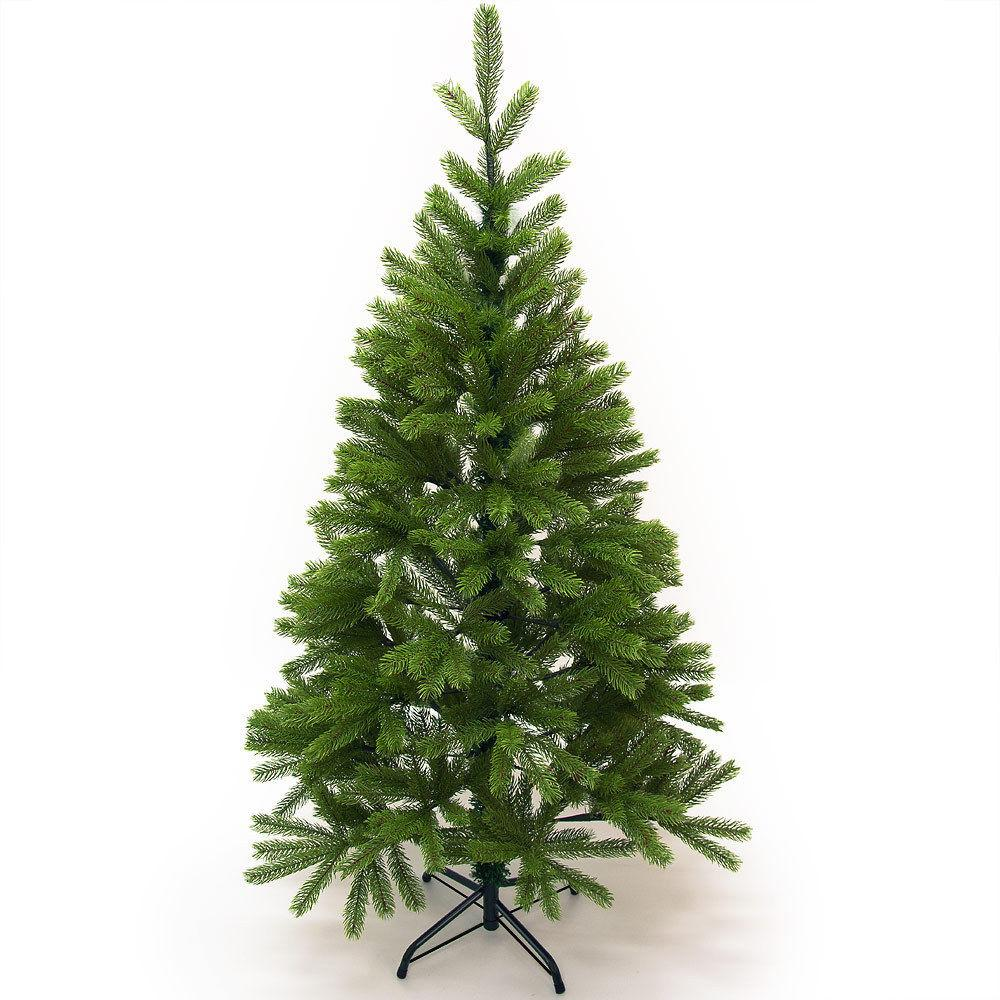 Artificial Christmas Tree 4ft Plastic Stand 140cm