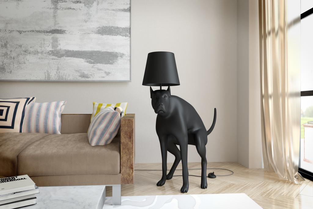 Artist Designer Based London Good Boy Floor Lamp