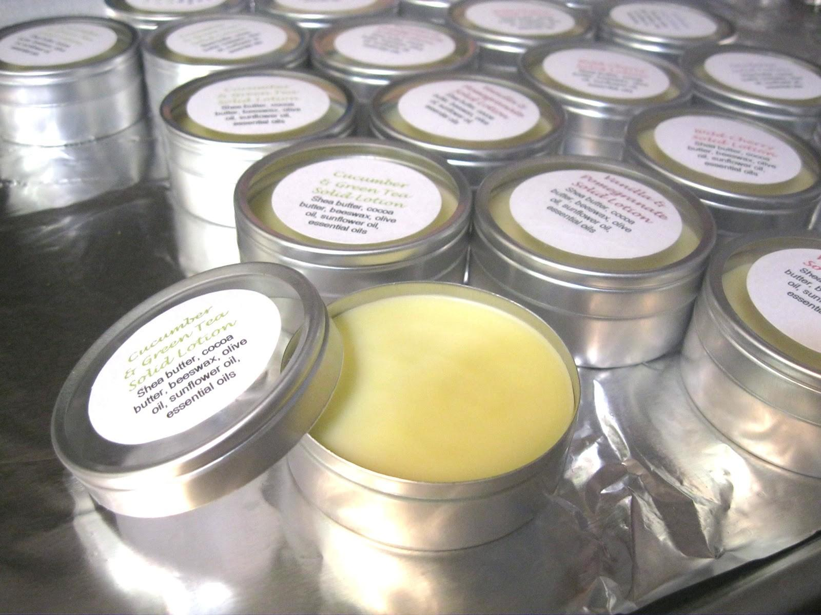 Artist Homemade Christmas Solid Lotion Bar
