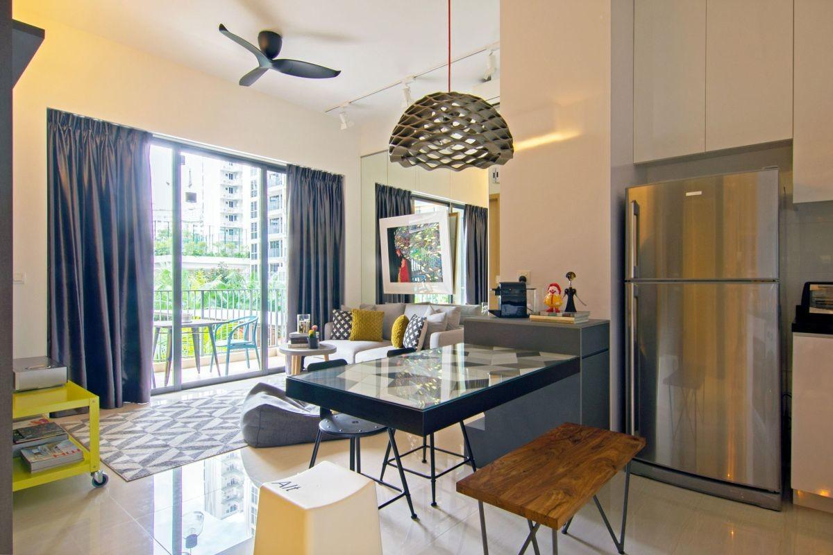 Artistic Renovation Eclectic Apartment Singapore