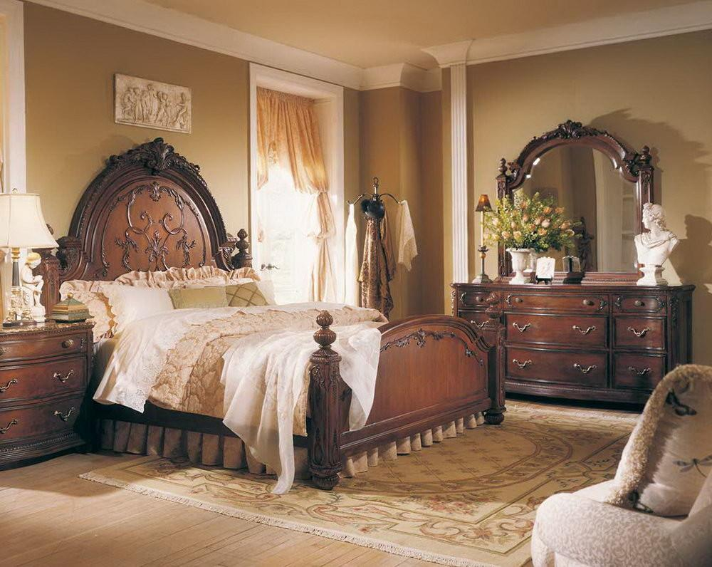 Artistic Victorian Bedroom Furniture Style Twin