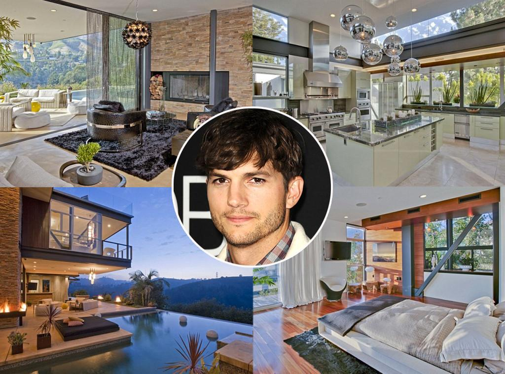 Ashton Kutcher Lists Bachelor Pad Million