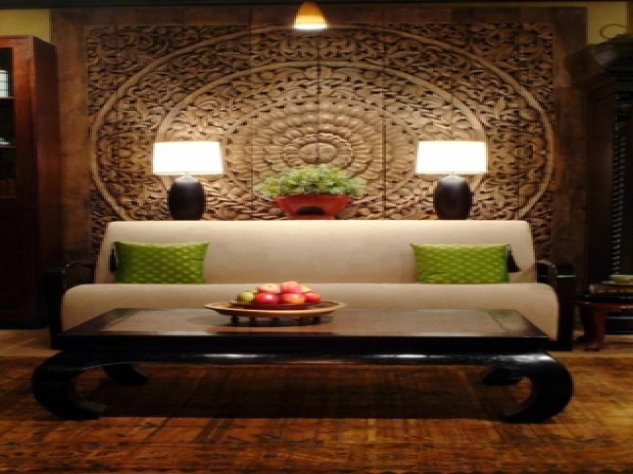 Asian Home Decor Ideas Inspired Living Room Design