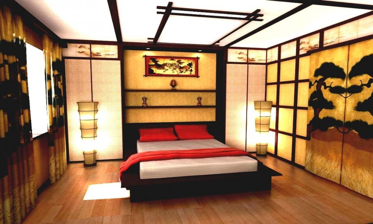 Asian Inspired Bedrooms Traditional Japanese Bedroom