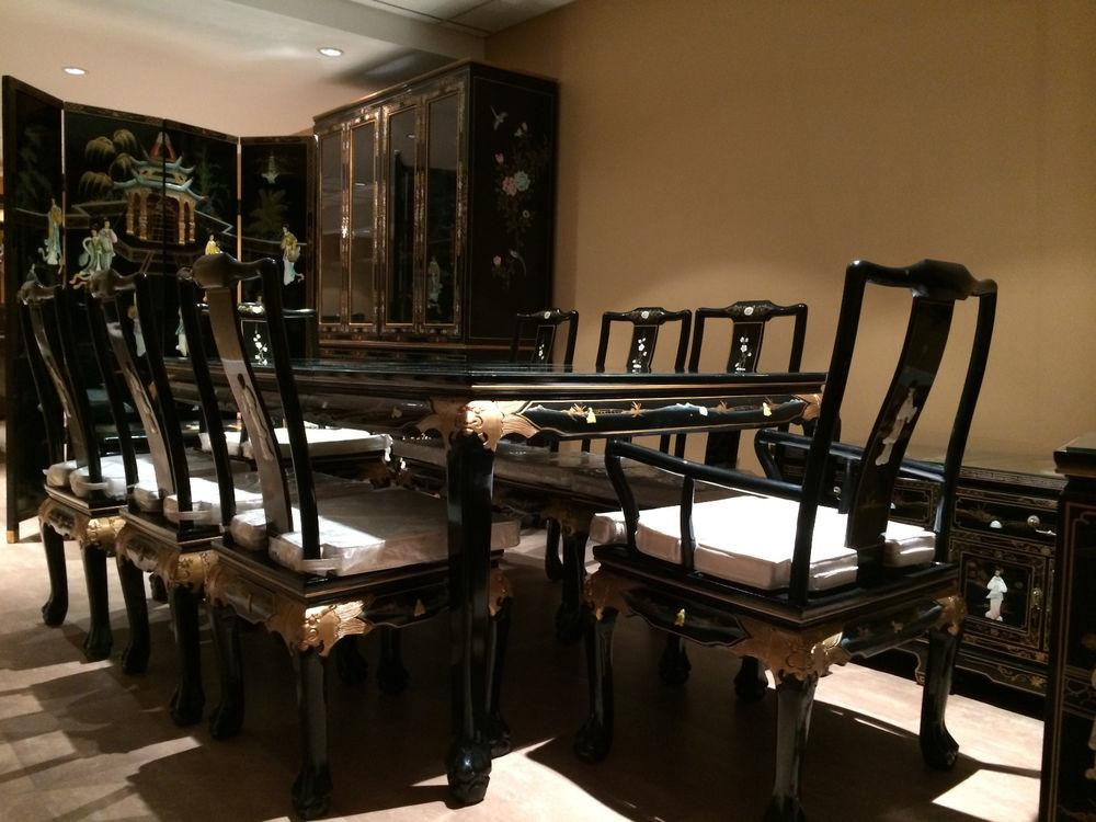 Asian Inspired Dining Room Furniture Peenmedia