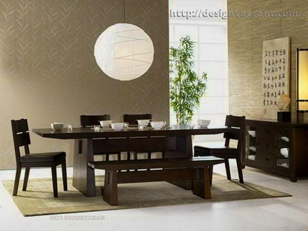 Asian Style Dining Room Furniture Attractive Dini