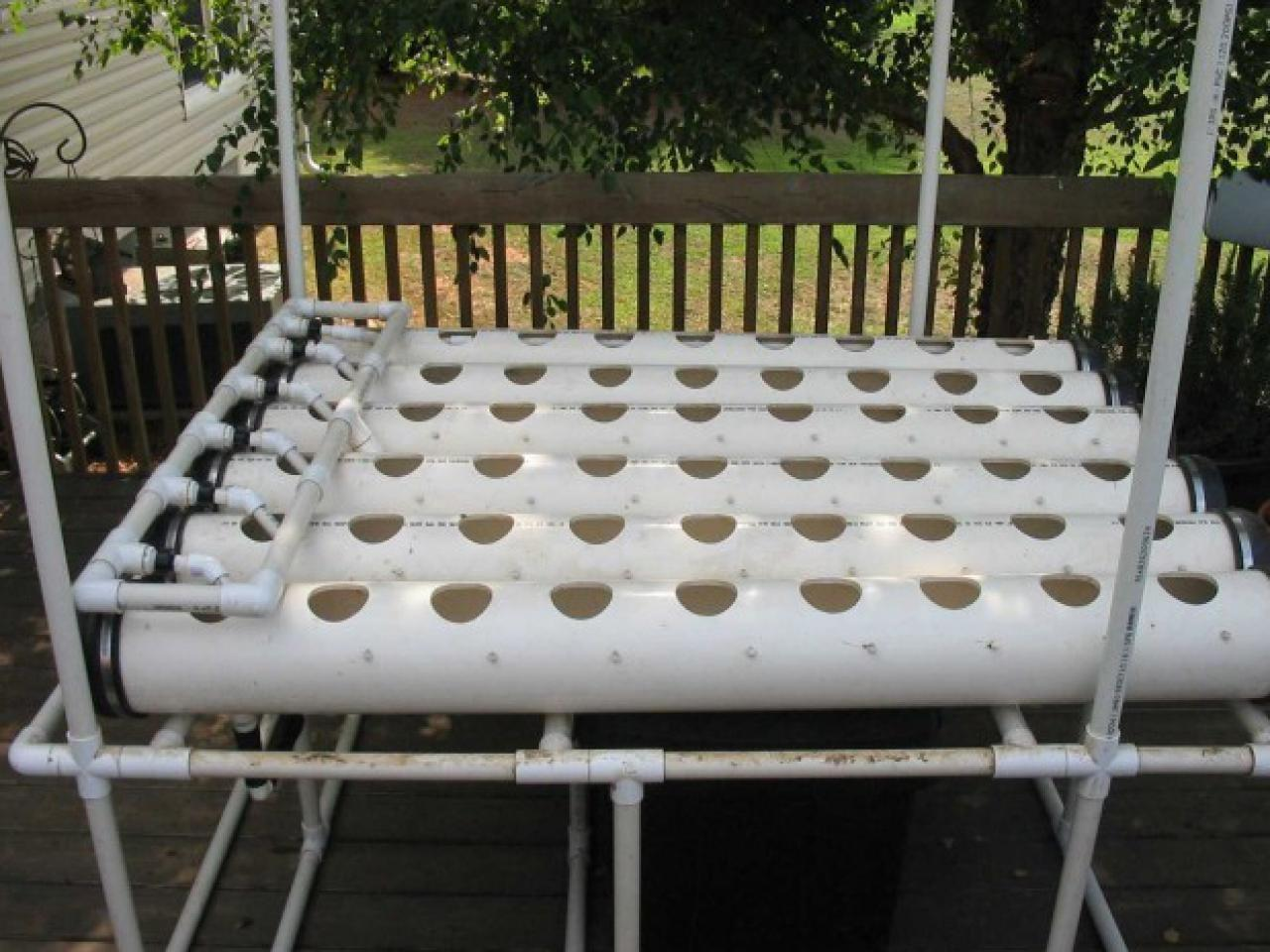 Assemble Homemade Hydroponic System Tos Diy