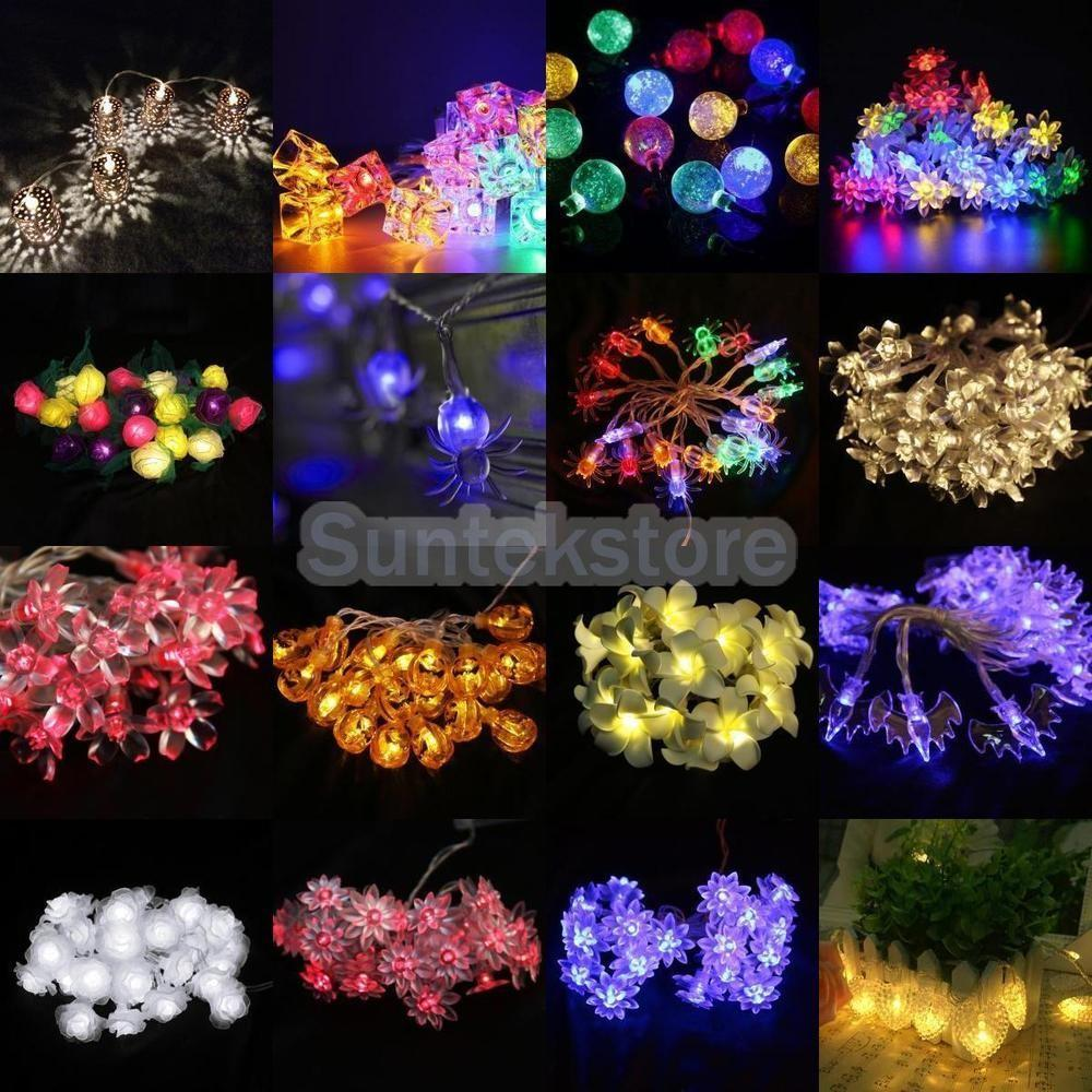 Assorted Battery Operated String Lamp Fairy Lights